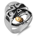 Stainless Steel Ring - Skull - $7.48