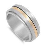 Stainless Steel Ring - Spinner - $2.70