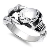 Stainless Steel Ring - Skull - $4.38