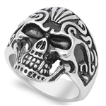 Stainless Steel Ring - Skull - $5.17