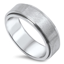 Stainless Steel Spinner Ring - $2.00