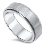 Stainless Steel Spinner Ring - $2.2