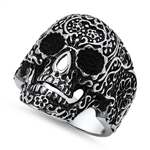 Stainless Steel Skull Ring - $4.04
