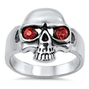 Stainless Steel Skull Ring - $5.28