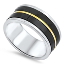 Stainless Steel Ring - $3.60
