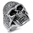 Stainless Steel Skull Ring - $5.06