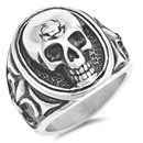 Stainless Steel Ring - Skull - $4.75