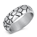 Stainless Steel Ring - Desert Band - $3.87