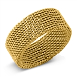 Stainless Steel Ring - Mesh - $2.37