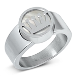Stainless Steel Ring - Crown - $4.10