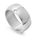 Stainless Steel Ring  -  $1.31