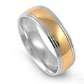 Stainless Steel Ring  -  $2.53