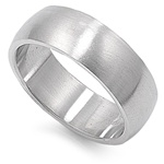 Stainless Steel Ring  -  $1.82