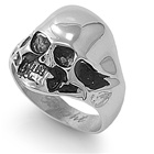 Stainless Steel Ring - Skull  -  $4.18