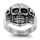 Stainless Steel Ring - Skull - $4.64