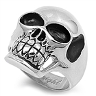 Stainless Steel Ring - Skull - $4.22