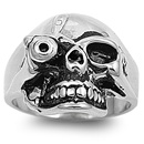 Stainless Steel Ring - Skull - $3.90