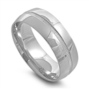 Stainless Steel Ring - 8mm  -  $2.25