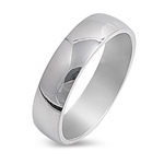Stainless Steel Ring - Wedding band  -  $1.08