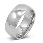Stainless Steel Ring - Wedding band - $1.38