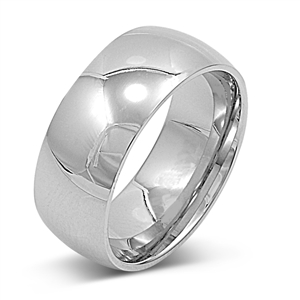 Stainless Steel Ring - Wedding band - Comfort Fit  $1.25
