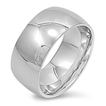 Stainless Steel Ring - Wedding band - Comfort Fit - $1.25