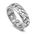 Stainless Steel Ring  -  $3.15