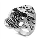 Stainless Steel Ring - Skull  -  $4.35
