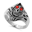 Stainless Steel Ring - Skull  -  $4.10