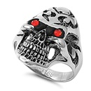Stainless Steel Ring - Skull  -  $6.09