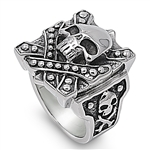 Stainless Steel Ring  - Skull - $5.54