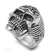 Stainless Steel Ring - Skull - $5.28