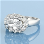 Silver CZ Ring - $4.95