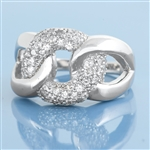 Silver CZ Ring - $7.25