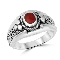 Silver Stone Ring - $7.99