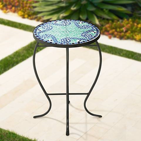 mosaic end table