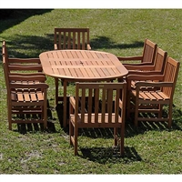 Forli Deluxe 9-Piece Patio Dining Set