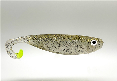 Mullet Run - Texas Black Gold - Chartreuse Tail