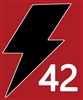 2021 Lightning Helmet Sticker Set