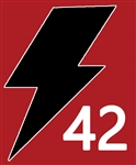 2020 Lightning Helmet Sticker Set