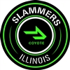 Slammers-Coyote Car Sticker