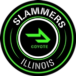 Slammers-Coyote Car Magnet/Sticker