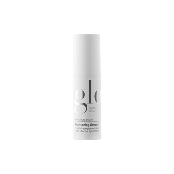 Glo Skin Beauty Lightening Serum is a highly effective combination of lighteners, melanin inhibitors and mild exfoliants. For gradual fading of dark (brownish) spots on the skin such as freckles, age, and liver spots.