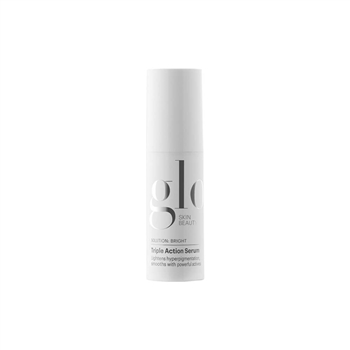 Glo Skin Beauty Triple Action Serum helps inhibit the production of melanin, clears skin and refines texture with Hydroquinone, Retinol, and Glycolic Acid while Algowhite lightens and illuminates skin.
