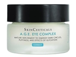SkinCeuticals A.G.E. Eye Complex is a three-dimensional anti-wrinkle eye cream that contains a unique combination of ingredients to reduce the appearance of dark circles, puffiness, and crow's feet