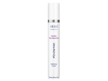 Obagi Gentle Rejuvenation Ultra-Rich Eye Hydrating cream helps to diminish crow's feet while tightening and firming loose, sagging skin.