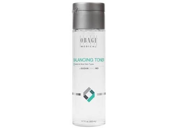 SUZANOBAGIMD Balancing Toner removes excess oil and impurities while helping to gently restore the skin's natural pH.  Naturally derived ingredients like witch hazel minimize the appearance of pores and oily skin.  