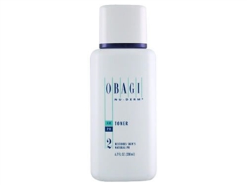 Obagi Nu-Derm Toner adjusts the pH of the skin for increased penetration of other Obagi products system ingredients.  Obagi Nu-Derm Toner contains a refreshing blend of natural ingredients and herbs which hydrate and tone skin.