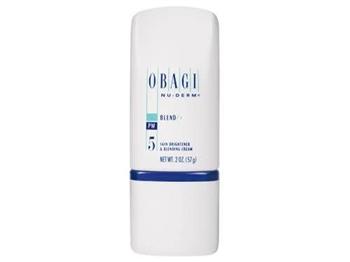 Obagi Nu-Derm Blend Fx is Hydroquinone-Free, skin-brightening cream specially formulated with 7% Arbutin, anti-oxidants, and exfoliants to help clarify and brighten skin.