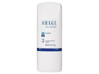 Obagi Nu-Derm Clear Fx  is Hydroquinone-Free, skin-brightening cream specially formulated with 7% Arbutin and anti-oxidants to enhance and even the appearance of skin tone.  It helps minimize imperfections caused by melasma, sun damage, and more.